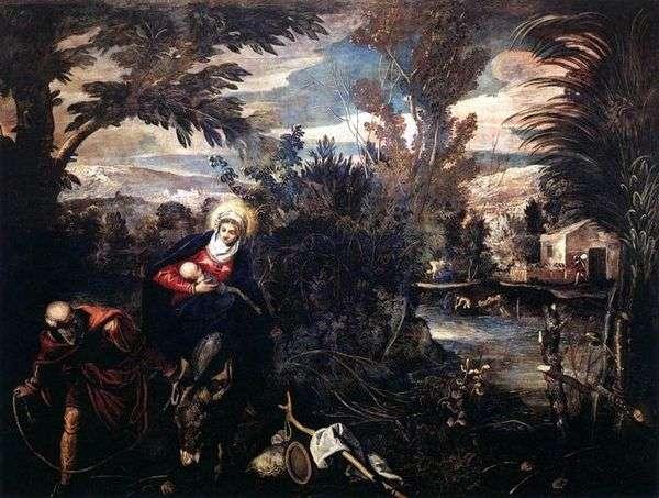 携带十字架   Jacopo Tintoretto