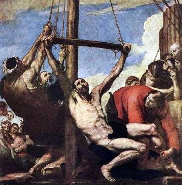 圣菲利普的殉难   Jusepe Ribera