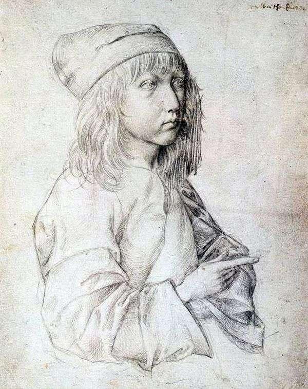 1484年自画像   Albrecht Durer