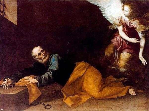 Apostle Peter从监狱释放   Jusepe de Ribera