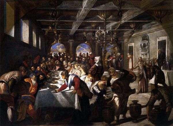 加利利迦拿的婚姻   雅各布丁托列托