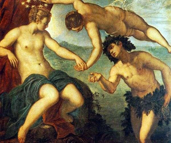 Bacchus和Ariadna   Jacopo Tintoretto