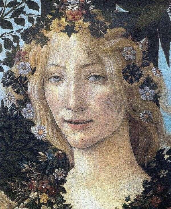 Flora(片段)   Sandro Botticelli