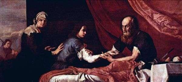 盲人艾萨克祝福雅各布   Jusepe de Ribera