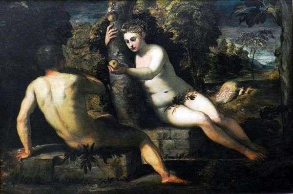 亚当的诱惑   雅各布丁托列托