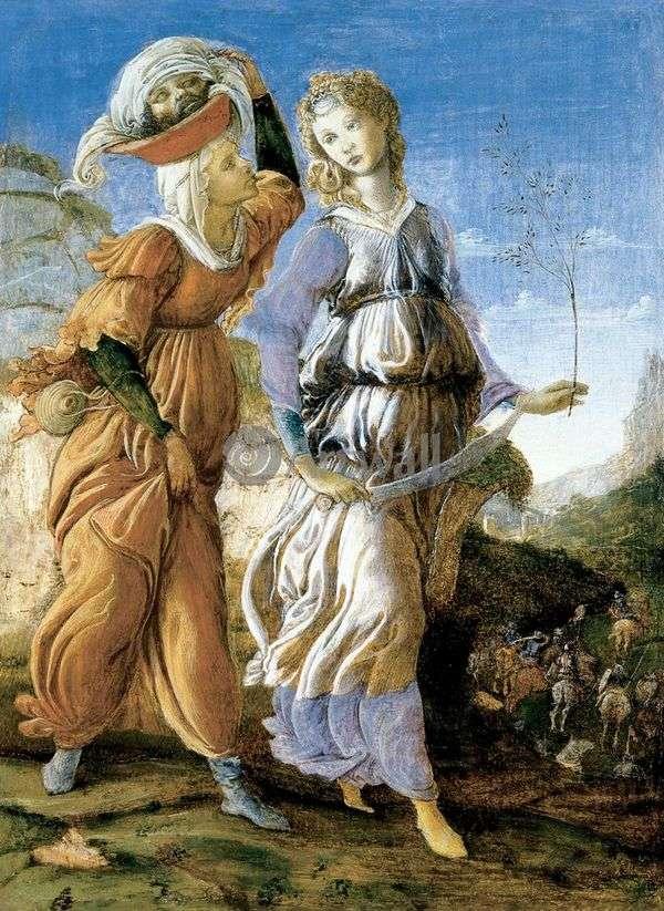 朱迪思回到Bethulia   Sandro Botticelli