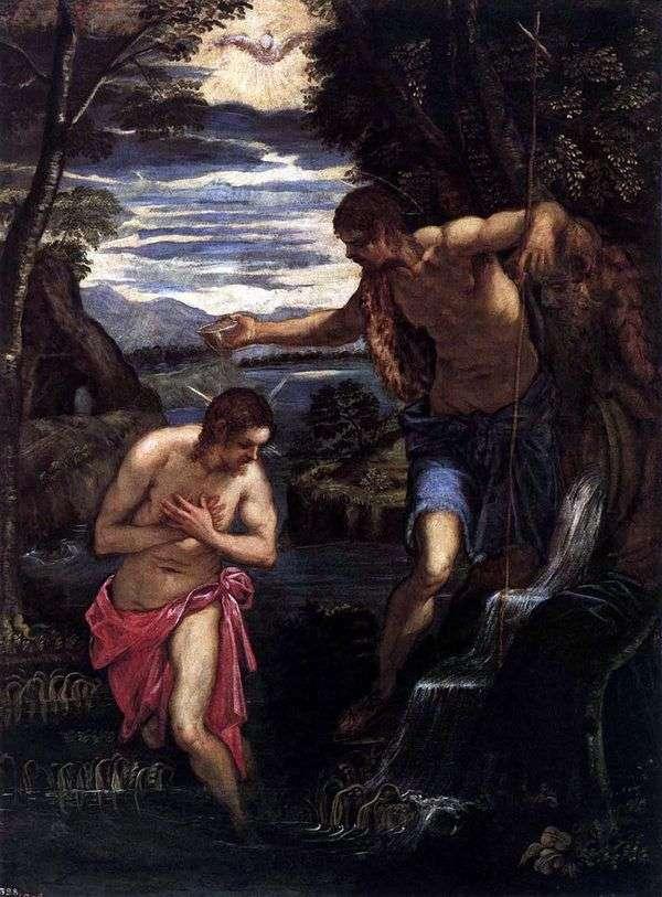 基督的洗礼   雅各布丁托列托