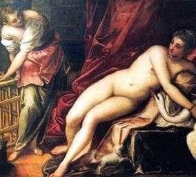Leda和天鹅   Jacopo Tintoretto
