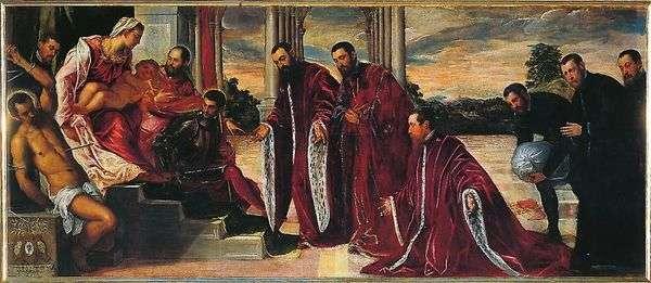 麦当娜与三位财务主管   雅各布丁托列托