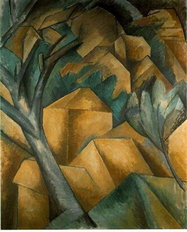 Estac的房子   Georges Braque