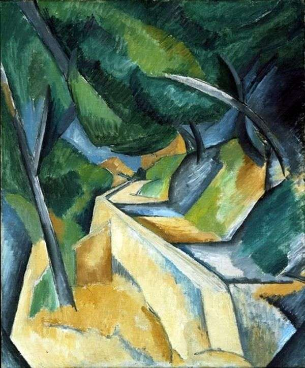 Estak附近的道路   Georges Braque