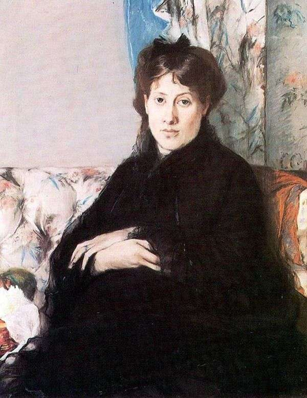 Edma Pontilion画像   Berthe Morisot