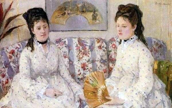 姐妹们   Bertha Morisot