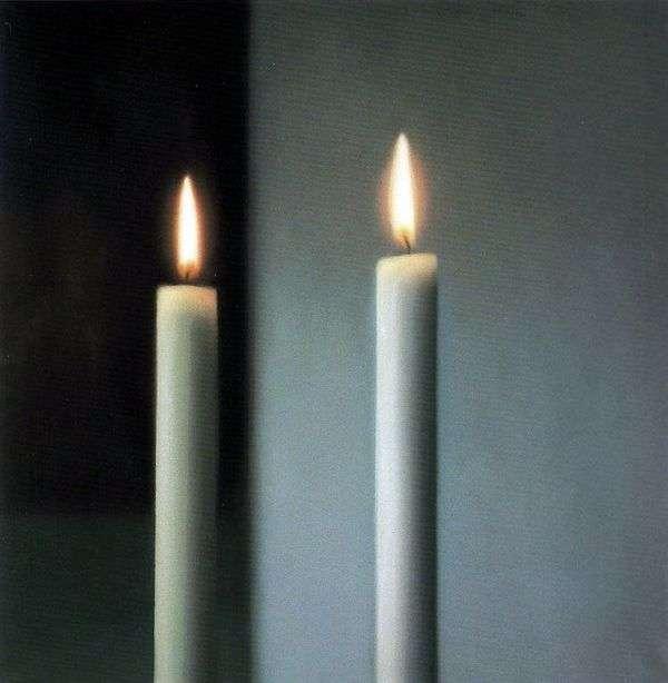 两支蜡烛   格哈德里希特