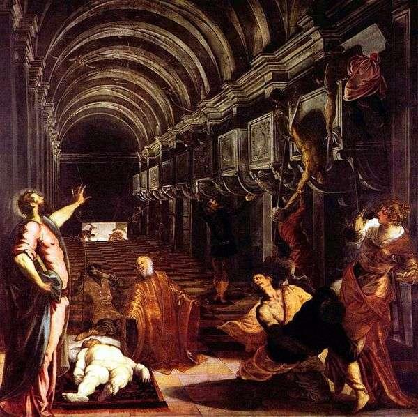 找到sv的身体。品牌   Jacopo Tintoretto