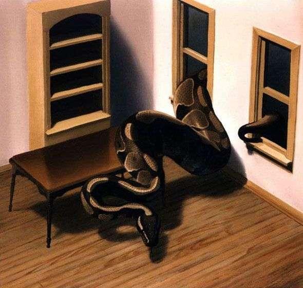 Snake   Gerhard Richter
