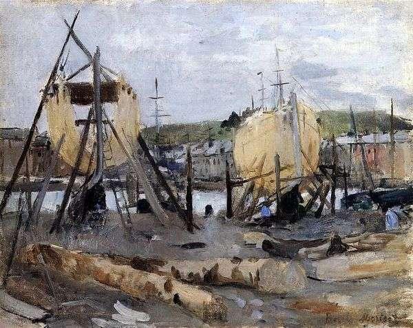 造船   Berthe Morisot