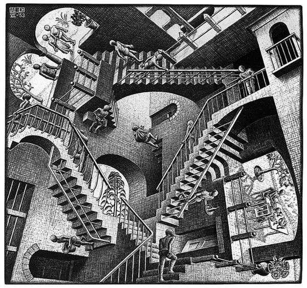 相对论   Maurits Escher