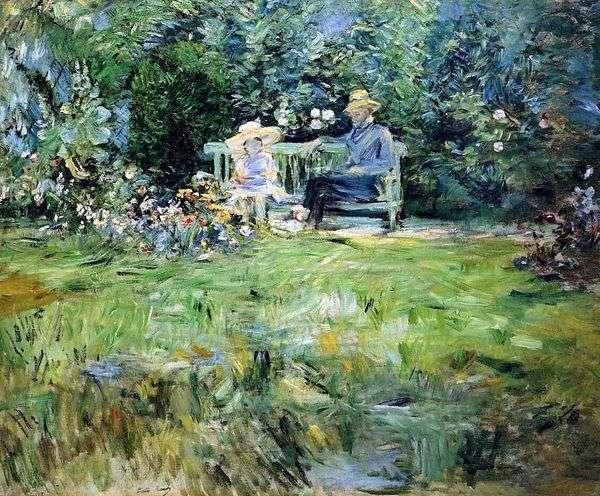 花园课   Bertha Morisot