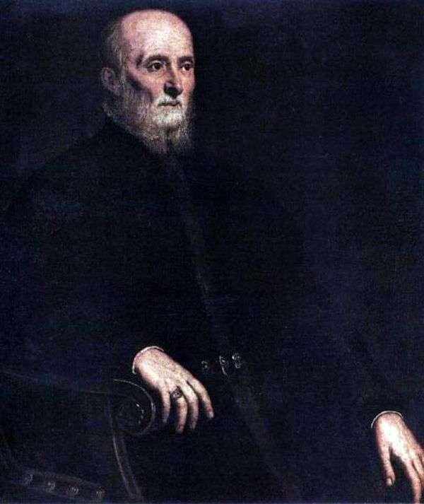 Alvise Cornaro   Jacopo Tintoretto的肖像