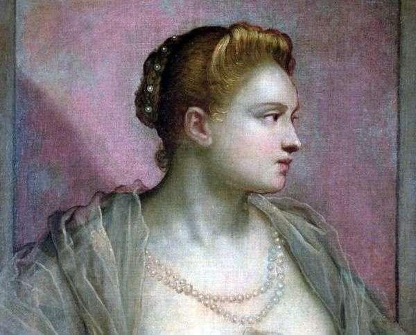 一名年轻女子的肖像   雅格布丁托列托