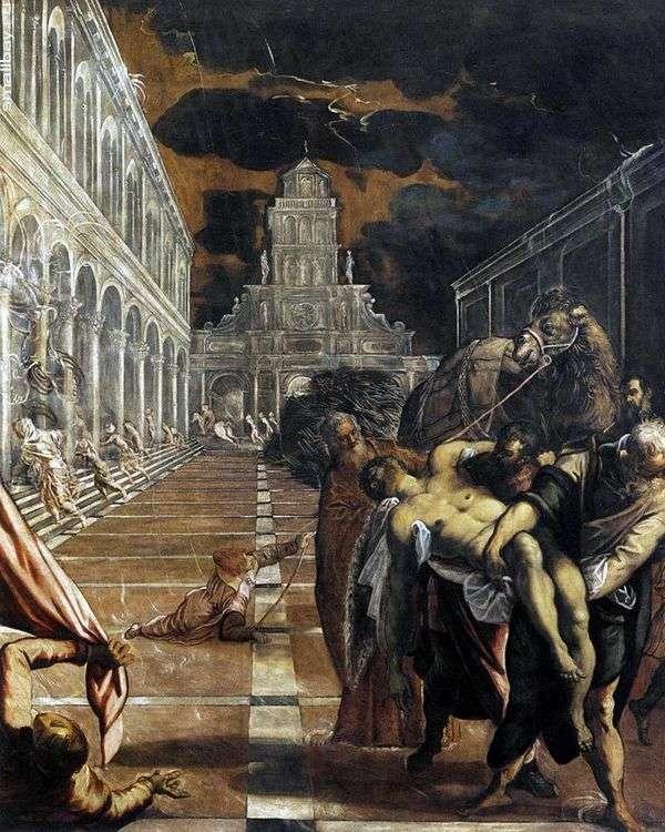 绑架圣马克的身体   雅各布丁托列托