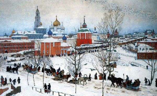 冬季。Rostov Veliky   Konstantin Yuon