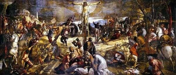 十字架(Calvary)   Jacopo Tintoretto