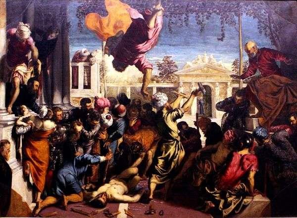 圣马克解放奴隶   雅各布丁托列托