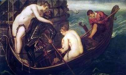 救世Arsinoe   Jacopo Tintoretto