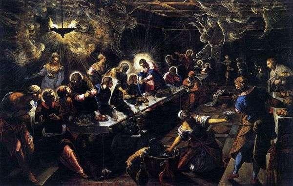 最后的晚餐   雅各布丁托列托
