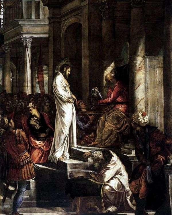 彼拉多面前的基督   雅各布丁托列托