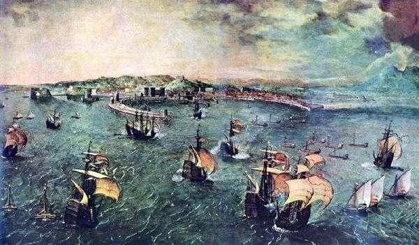 那不勒斯海湾的海战   彼得布鲁盖尔