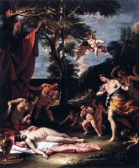 Bacchus和Ariadne会议   Sebastiano Ricci