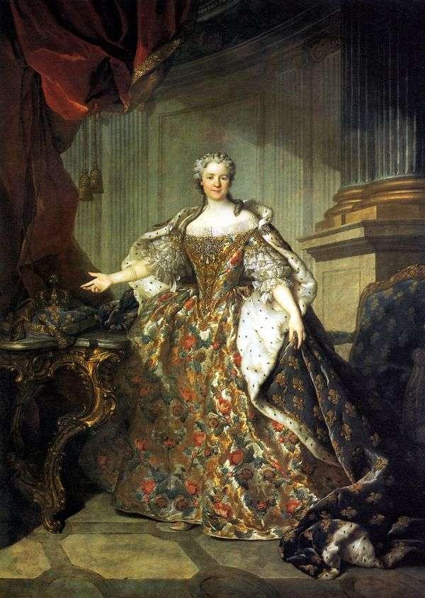 Maria Leshchinskaya,法国女王,路易十五的妻子   Louis Tokke