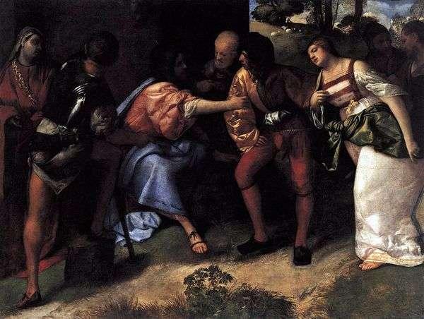 基督和不忠心的配偶提香维塞利奥