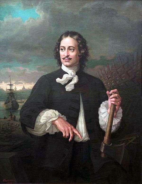 Peter I   Augustus Tolyander的肖像