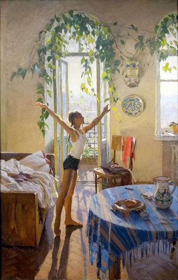 早上   塔蒂亚娜Yablonskaya