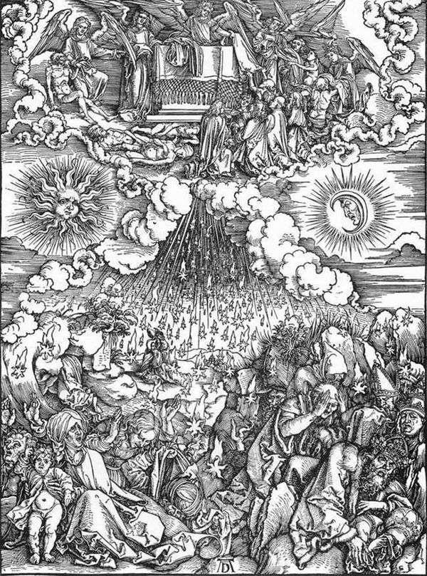 第五和第六印章开幕   Albrecht Durer
