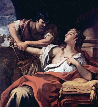 Lucretia和Collatin   Sebastiano Ricci