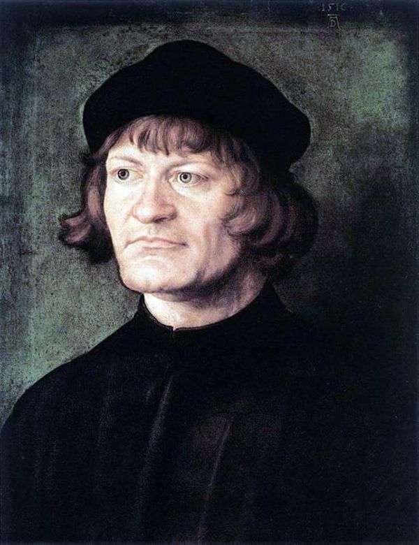 牧师的肖像   阿尔布雷希特 杜勒