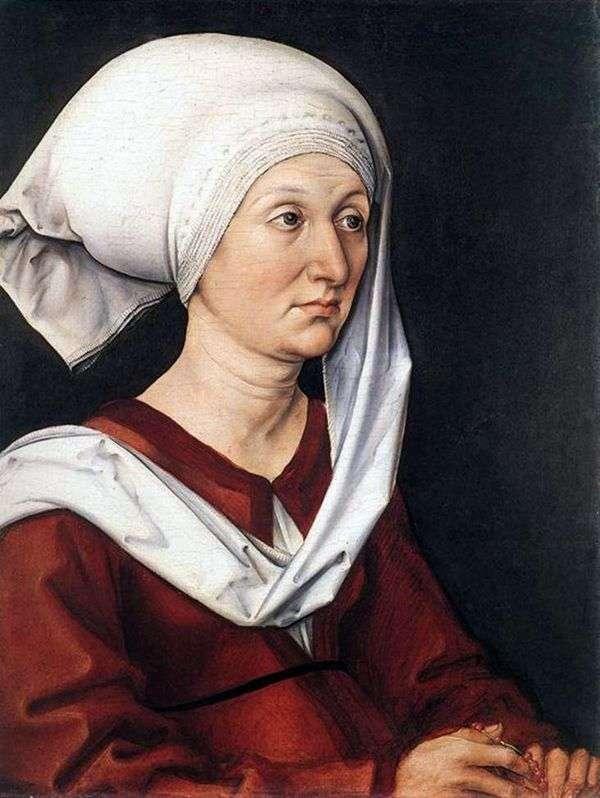 BarbaraDürer的肖像   AlbrechtDürer