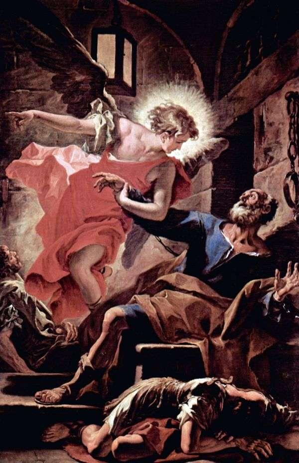 由天使释放使徒彼得   塞巴斯蒂亚诺里奇