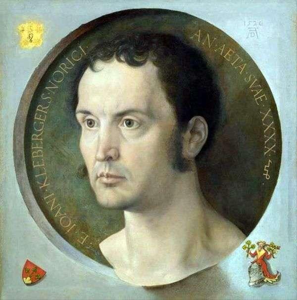 John Kleberger的肖像   Albrecht Durer