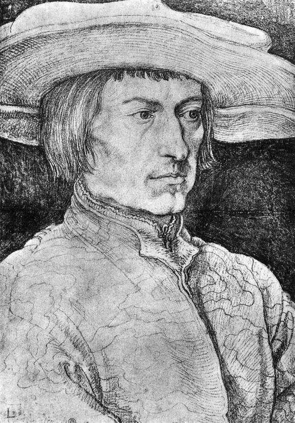 Lucas van Leiden的画像   Albrecht Durer