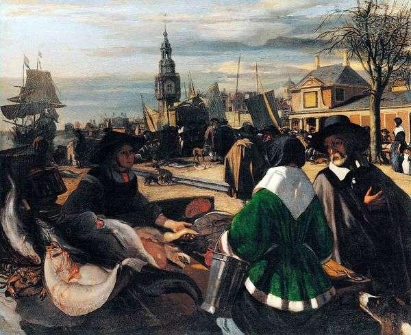 港口市场   Emanuel de Witte