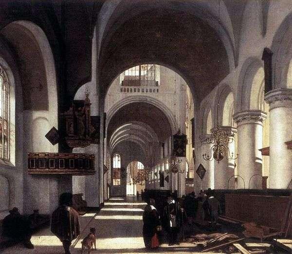 教堂内部   伊曼纽尔德维特