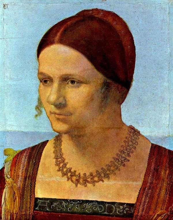 一个少妇的画象   阿尔布雷希特Durer