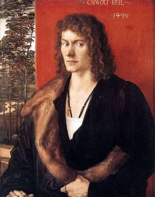 Oswald Crell   Albrecht Durer的肖像