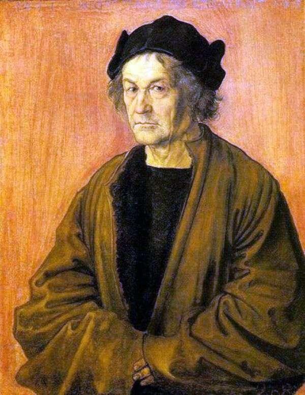 一位父亲的画象在70岁   阿尔布雷希特Durer